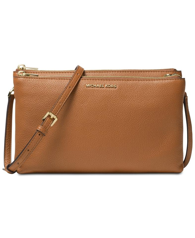 69220ee121263c Michael Kors Jet Set Double Gusset New With Tag Cross Body Bag Image 0 ...
