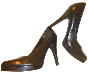 Apt. 9 Nwb Black Leather 5.5 B Pumps