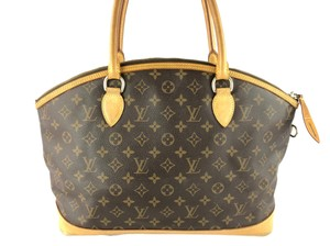 Louis Vuitton Lockit Gm Monogram Shoulder Bag