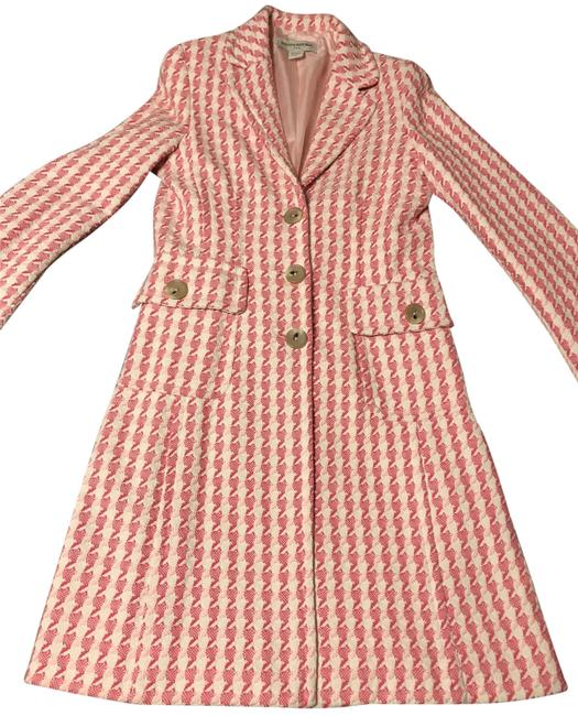 Item - Pink and White 270928 Coat Size 8 (M)