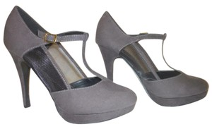 Call It Spring Nwb Micro Suede 8 B Gray Formal