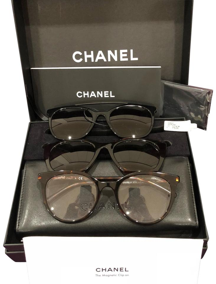 ae0cc29533 Chanel Sold Out Clip-on Glasses Frame Set Sunglasses