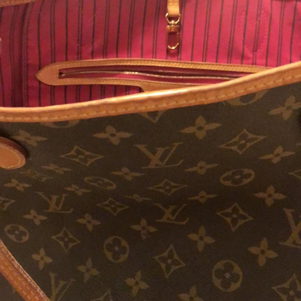 1acd2fe0cbb3 Louis Vuitton Interior Size Monogram Gm with Pink Lining Shoulder ...