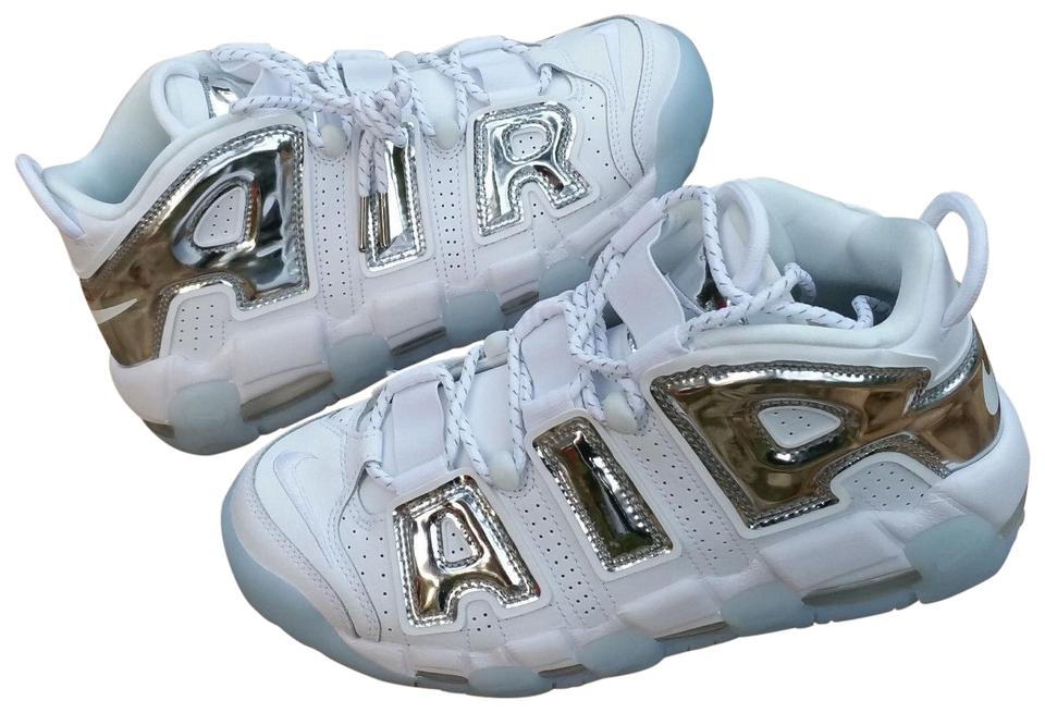 online store 30053 8dfd9 Nike Uptempo Air Womens Sneaker More Uptempo White Athletic Image 0 ...