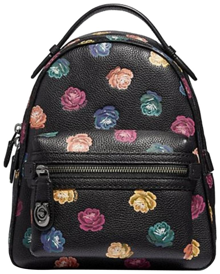 5b3d5be264471 Coach Campus Rainbow Rose 23 Backpack - Tradesy