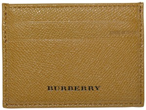 Burberry NIB BURBERRY LEATHER CARD CASE WALLET MADE IN ITALY