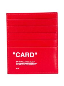 Off-White™ Leather Cardholder