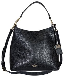 Kate Spade Luxury Leather Classic New York Pebbled Shoulder Bag