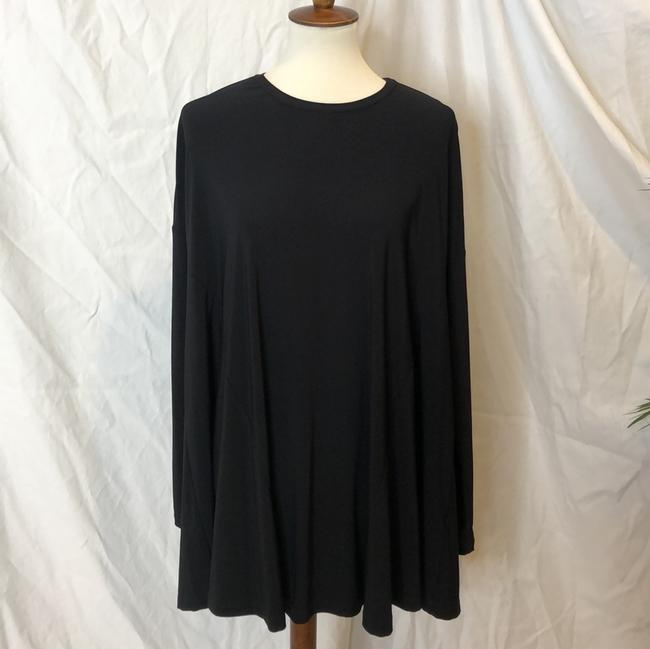 Show Me Your Mumu Black Will Tunic Long Sleeve In Spandy Short Cocktail Dress Size 8 (M) Show Me Your Mumu Black Will Tunic Long Sleeve In Spandy Short Cocktail Dress Size 8 (M) Image 4