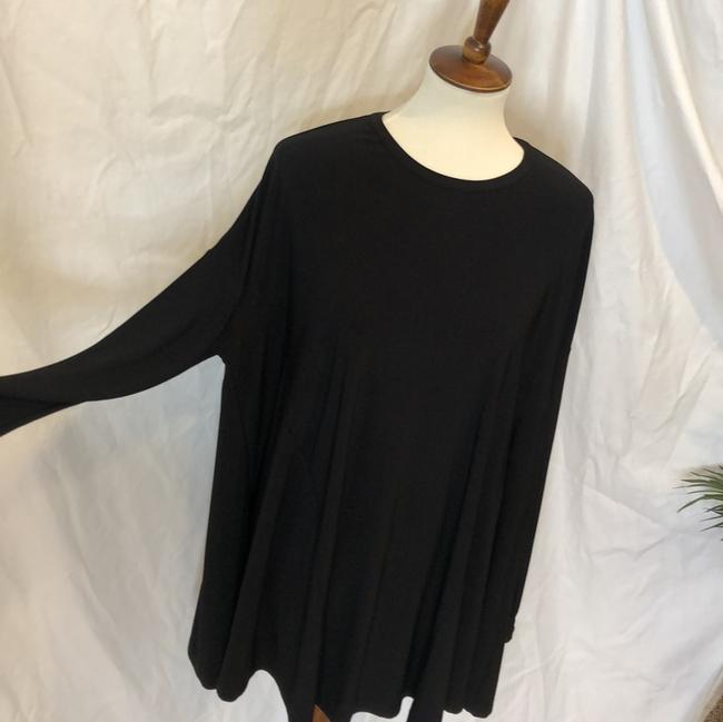 Show Me Your Mumu Black Will Tunic Long Sleeve In Spandy Short Cocktail Dress Size 8 (M) Show Me Your Mumu Black Will Tunic Long Sleeve In Spandy Short Cocktail Dress Size 8 (M) Image 5
