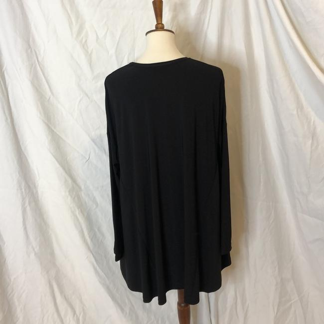 Show Me Your Mumu Black Will Tunic Long Sleeve In Spandy Short Cocktail Dress Size 8 (M) Show Me Your Mumu Black Will Tunic Long Sleeve In Spandy Short Cocktail Dress Size 8 (M) Image 7