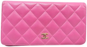 Chanel CHANEL Quilted Yen Wallet