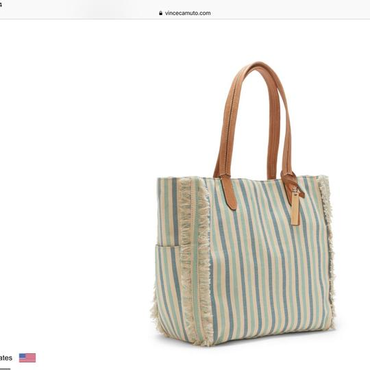 Vince Camuto Tote in Turquoise Multi Image 1