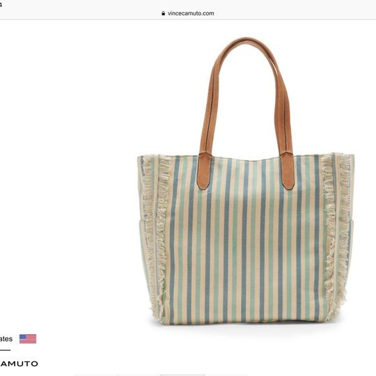Vince Camuto Tote in Turquoise Multi Image 2
