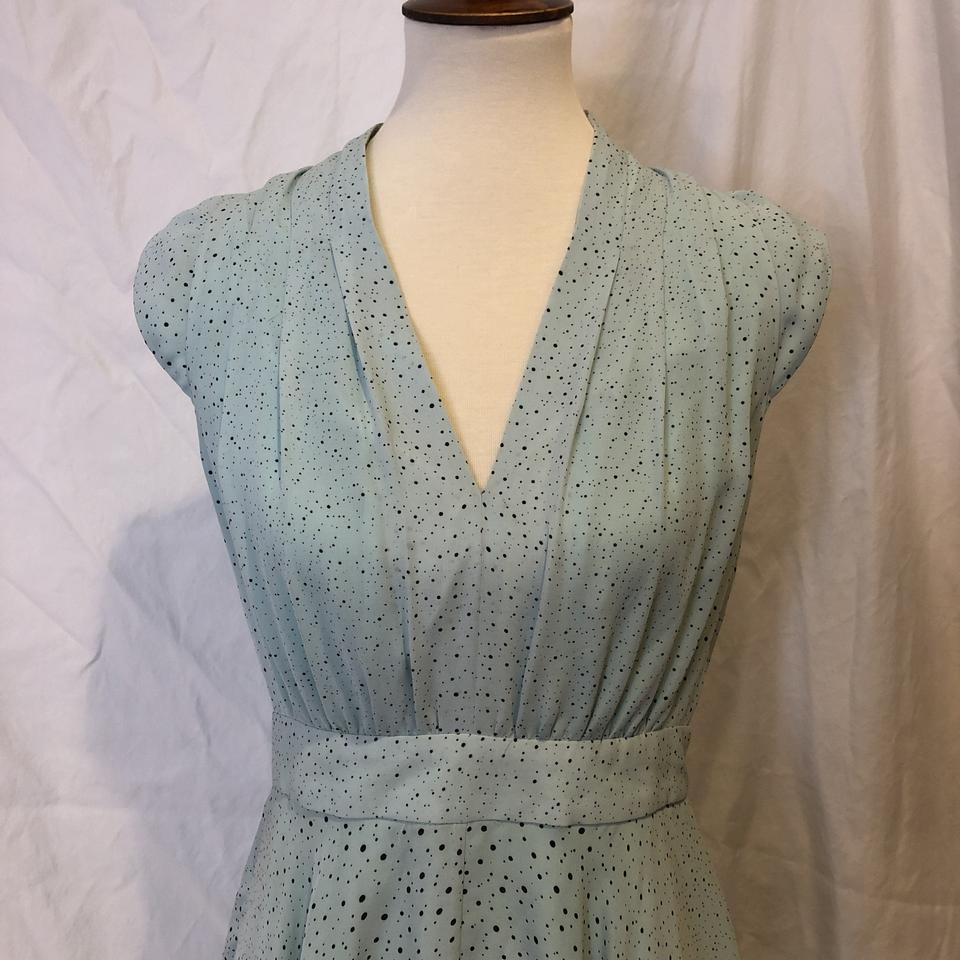 French Connection Green Aqua Turquoise Sold Out Memphis Spray Mid-length  Cocktail Dress Size 8 (M) - Tradesy b3b7d9c0a