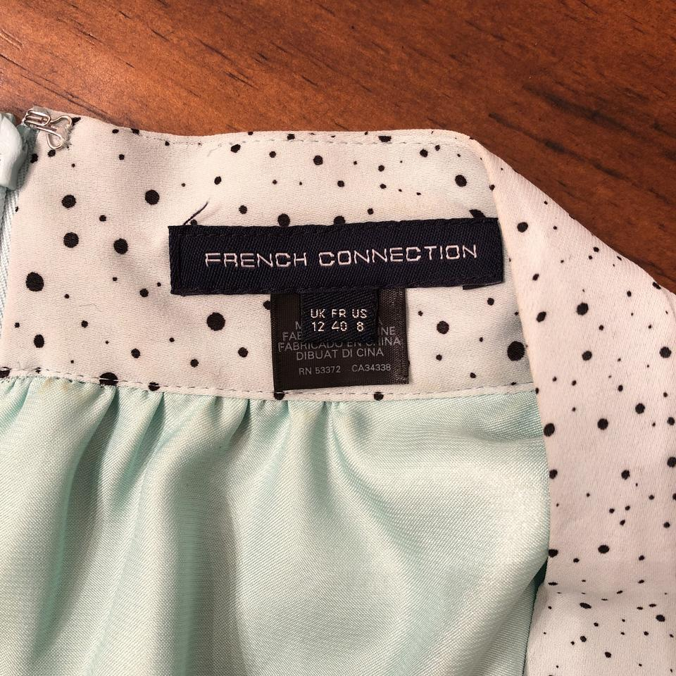 French Connection Green Aqua Turquoise Sold Out Memphis Spray Mid ... ee3cd0c4f
