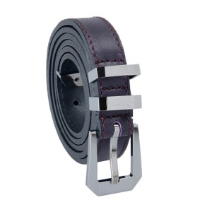 Versace Collection Versace Collection 100% Leather Purple Women's Belt