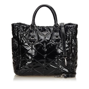Prada 8cprto004 Tote in Black