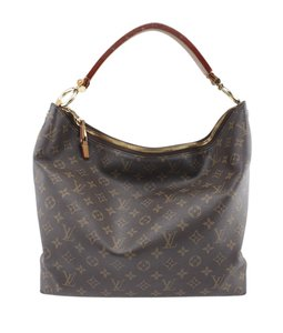 Louis Vuitton Coated Canvas Hobo Bag