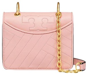 Tory Burch Quilted Mini Leather Holiday Cross Body Bag