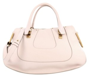 Chloé Leather Satchel in Pink