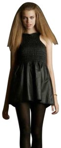 Geren Ford Leather Structured Fall Exclusive New York Dress