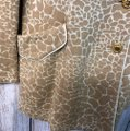 St. John Brown/Beige Collection Animal Print Brown/Beige Knit Jacket Blazer Size 6 (S) St. John Brown/Beige Collection Animal Print Brown/Beige Knit Jacket Blazer Size 6 (S) Image 5