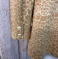 St. John Brown/Beige Collection Animal Print Brown/Beige Knit Jacket Blazer Size 6 (S) St. John Brown/Beige Collection Animal Print Brown/Beige Knit Jacket Blazer Size 6 (S) Image 7