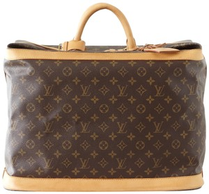 Louis Vuitton Monogram Cruiser 45 Brown Travel Bag
