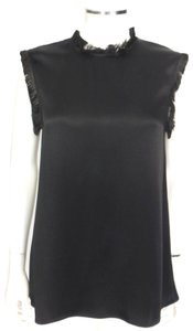 Stella McCartney Top Black Silk