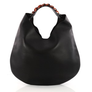 aebab016a341 Added to Shopping Bag. Givenchy Infinity Leather Hobo Bag. Givenchy  Infinity Small Black ...