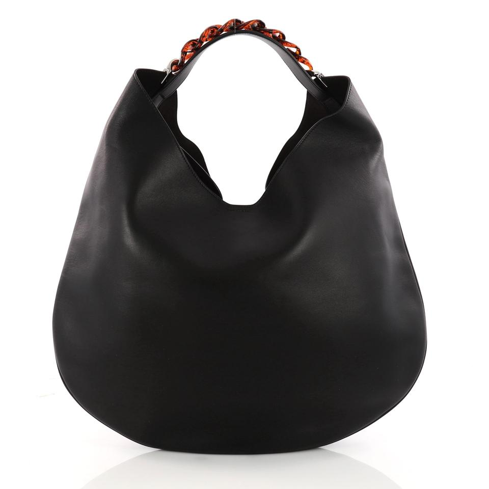 d4582a29a7cb Givenchy Infinity Small Black Leather Hobo Bag - Tradesy