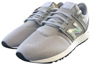 New Balance Sneakers Techy Fabric Mesh Gray Athletic