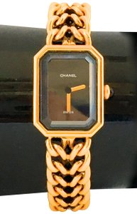 Chanel AUTHENTIC CHANEL PREMIER GOLD G.K. 09781 WOMEN'S WRIST WATCH