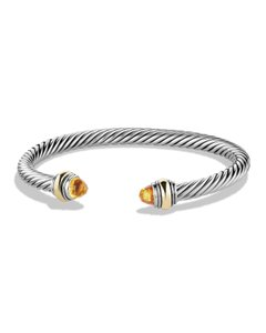 David Yurman David Yurman 5MM Citrine Cable Bracelet
