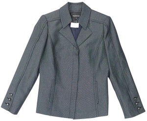 John Meyer of Norwich Career Professional Office Charcoal Grey Black Blazer
