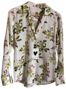 773ba5649f9f5 Equipment Adalyn Floral Button Down Shirt Bright White Multi