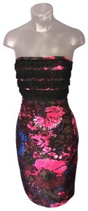Tracy Reese Floral Lace Silk Dress