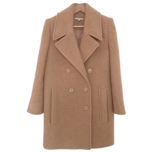 Carven Double Breasted Pea Coat