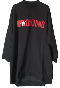 MOSCHINO [tv] H&M short dress Black/Red on Tradesy