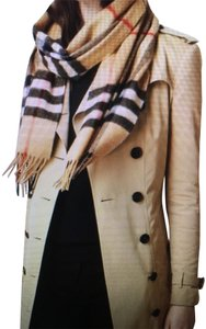 Burberry Burberry Giant Check Icon Cashmere Scarf