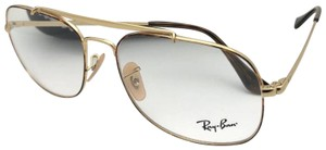 Ray-Ban RAY-BAN Aviators Eyeglasses THE GENERAL RB 6389 2945 Havana Gold Frame