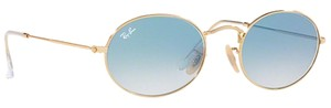 Ray-Ban RB3547N 001/3F Oval Style Unisex