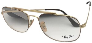 Ray-Ban RAY-BAN Aviators Eyeglasses THE GENERAL RB 6389 2945 57-16 Havana Gold