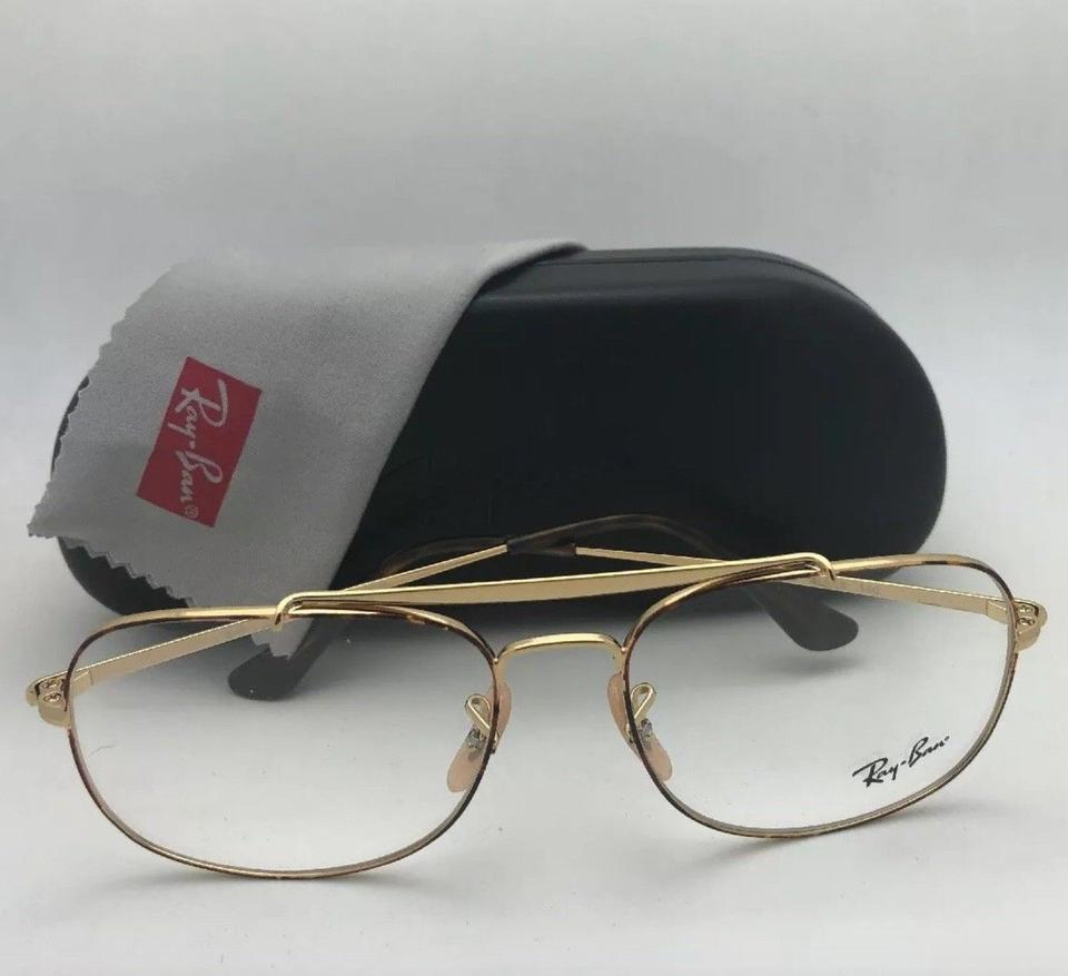 f7c090d029d Ray-Ban New Aviators The General Rb 6389 2945 57-16 145 Havana On Gold  Frame Sunglasses - Tradesy
