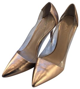 RAYE rose gold metallic Pumps