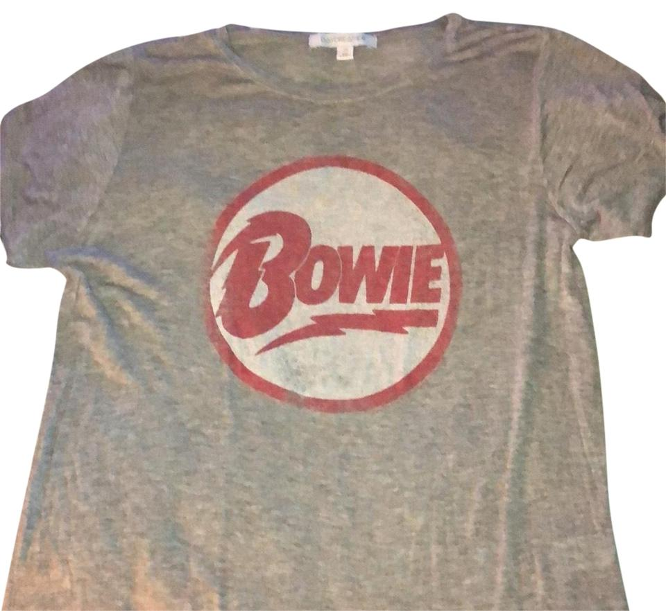 Daydreamer Gray Grey T Shirt With Circle W Bowie Tee Shirt Size 8 M