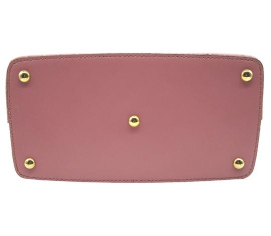 Gucci Guccissima Satchel in Pink Image 8