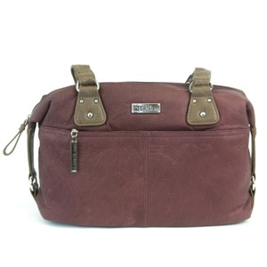 Stone Mountain Accessories Satchel in Wine