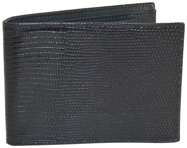 Item - Black New Paisley Embossed Leather Bifold Wallet